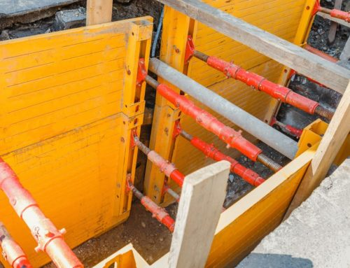 Trench Shoring's New Light Duty Crossing Plates